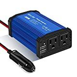 300W Power Inverter Car Charger DC 12V to 110V AC Converter with 4.8A Dual USB Ports...