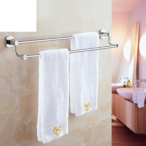 Brass double bar Towel rack/Towel shelf /toilet/bathroom accessories/ room single double bar-C best