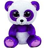 "Ty Beanie Boos 6"" Boom Boom the Purple Panda"