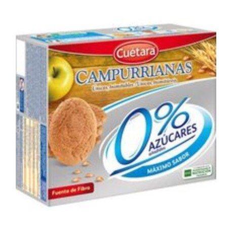 Campurrianas Caja de Galletas sin Azúcar - 400 gr: Amazon.es: Alimentación y bebidas