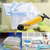5 PACK JUMBO Space Saver Bags Storage Bag Vacuum Seal Organizer NEW
