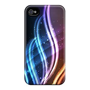 MZD37084YehA Anti-scratch Cases Covers 88caseme Protective Circles And Waves Cases For Iphone 6