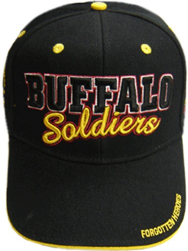 US ARMY BUFFALO SOLDIERS CAP HAT AMERICAN HEROES