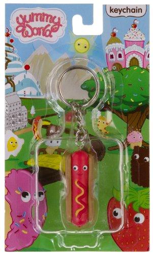 yummy world keychain hot dog - 1