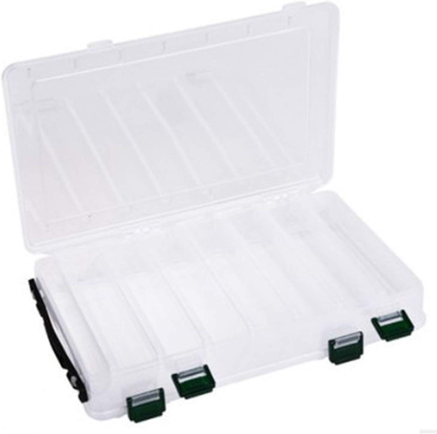 Haken K/öderbeh/älter K/öderbox f/ür Blinker /& Wobbler Hardbaits Box Kunststoff Tackle Box, 16 /× 7,7 /× 4,5 cm f/ür Kunstk/öder 16 Faecher wasserdichte Angel Box Angelbox f/ür Angelk/öder Baitbox