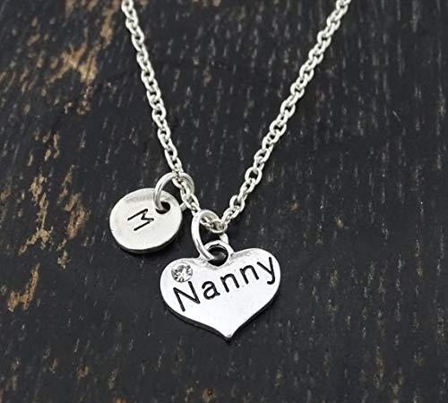 Nanny Necklace, Nanny Charm, Nanny Pendant, Nanny Jewelry, Nanny Gift, Gift for Nanny, Babysitter Gift, Babysitter Necklace, Nanny Thank You Gift, Nanny Birthday, Nanny Gifts, Babysitter Birthday
