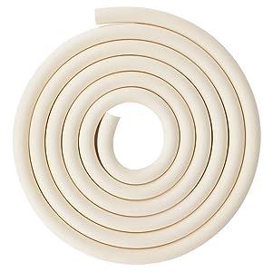 stonylab Vacuum Rubber Tubing, 18mm (45/64'') OD 8mm (5/16'') ID Vacuum Tubing Natural Rubber Tube for Vacuum, 8 x 18mm (5/16'' x 45/64'') Fitting on StonyLab Glassware Labware - 3m (10 Feet)