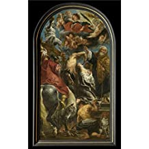 The Perfect effect Canvas of oil painting 'Martyrdom of Saint Apollonia by Jacob Jordaens I,1628' ,size: 10x16 inch / 25x41 cm ,this High Definition Art Decorative Canvas Prints is fit for Laundry Room gallery art and Home gallery art and Gifts