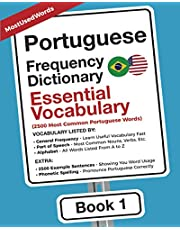 Portuguese Frequency Dictionary - Essential Vocabulary: 2500 Most Common Portuguese Words