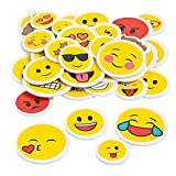 1000 stickers roll - Emoji Self-Adhesive Shapes - 220 pcs