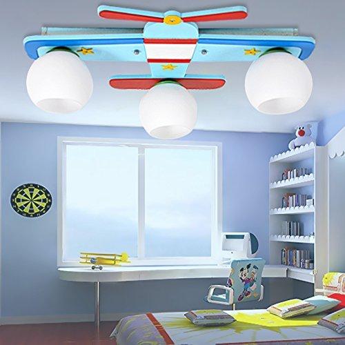Kinderzimmer Deckenleuchte Flugzeug Lampe Junge Schlafzimmer Ideen ...