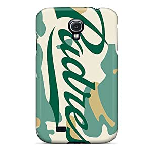 MansourMurray Samsung Galaxy S4 Scratch Protection Phone Cases Allow Personal Design Vivid San Diego Padres Series [TzG3022SogN]