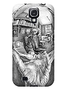 LarryToliver Customizable Escher pictures samsung Galaxy s4 Best Durable Cover Case #4 wangjiang maoyi