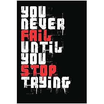 Amazon.com: Usted nunca falla hasta Stop tratando de ...