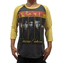 Bunny Brand Men's Ratt Dancing Undercover Raglan T-Shirt 100%Cotton