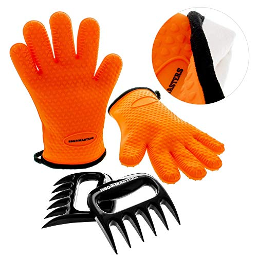 Master Resistant Silicone Cooking Gloves