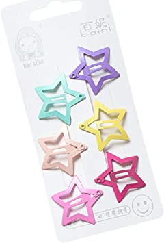 50Pcs Small Cute Kids Duck Bill Hair Sectioning Clips Mixed Color Scrapboo