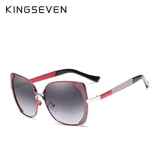 Yangjing-hl Diseño de Marca Gafas de Sol polarizadas Mujeres ...