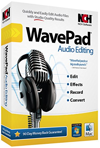 - NCH Software Wavepad 6 Audio Editing [CD-ROM] Win 10,8.1,8 7, XP v2017 [Latest Version]