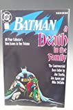 BATMAN A DEATH IN THE FAMILY DC COMIC BOOK 1988 1st PRINTING