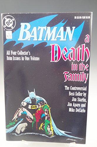 BATMAN A DEATH IN THE FAMILY DC COMIC BOOK 1988 1st PRINTING (Batman And Robin Death Of The Family)