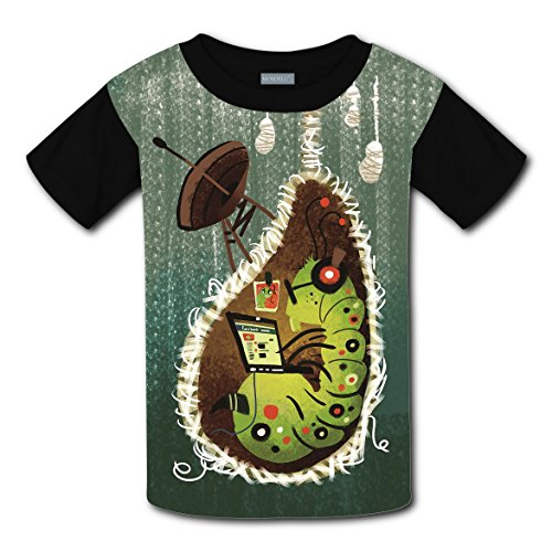 Short Sleeve New Fashion Tshirts 3D Making With Nerd Nest For Boy Girl - Costume What Wear For Nerd A To