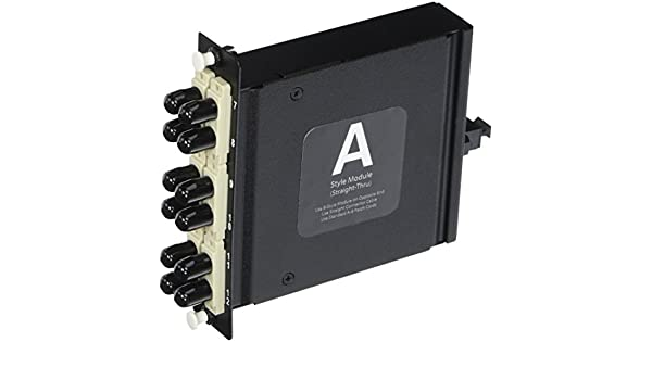 TAA Compliant C2G//Cables to Go 39139 Q-Series 12-Strand MTP//MPO-LC Single-Mode Module Method A