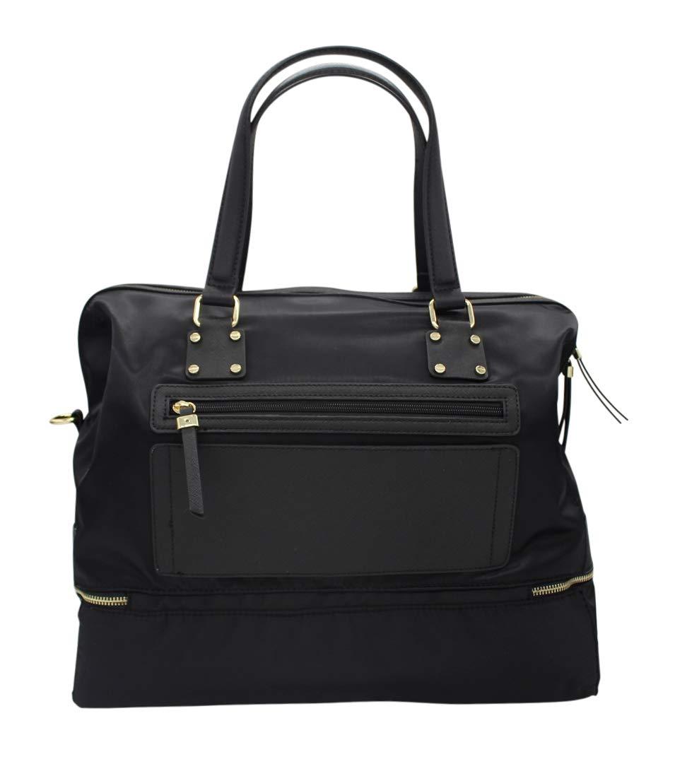 Simply Noelle Jet Setter Duffel Bag Black