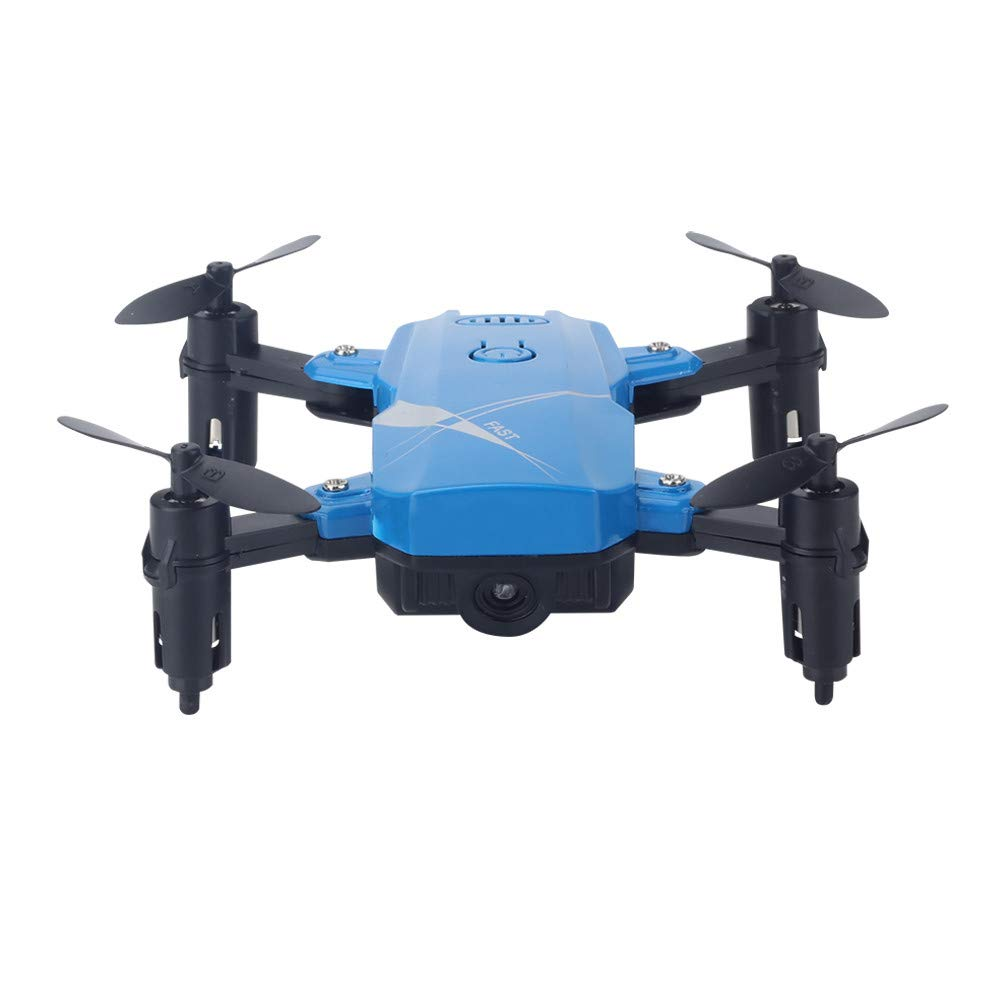 MOZATE LF602 WiFi FPV RC Drone Quadcopter with 2.0MP HD Camera 4 Channel 2.4 GHz 6-Gyro for Kids (Blue) by MOZATE (Image #2)