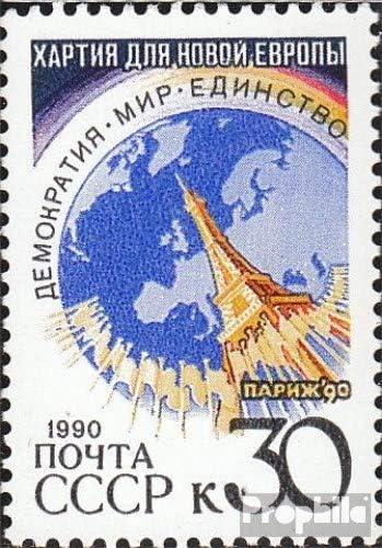 Prophila Collection Unión Soviética 6157 (Completa.edición.) 1990 Carta para Nuevo €uropa (Sellos para los coleccionistas): Amazon.es: Juguetes y juegos