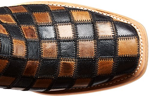 Haul Men's Boot Tin Shoes Checkers Brown Work nF8axPqCwx