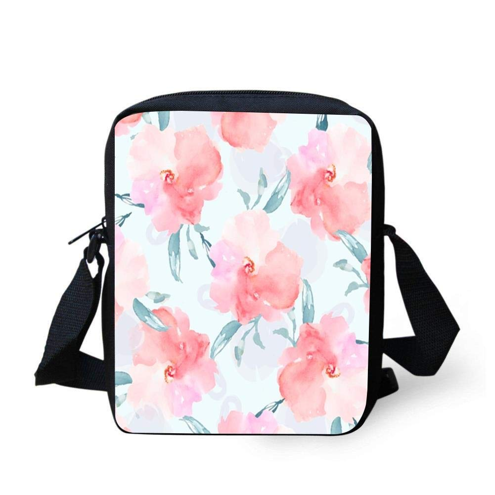 WEKJNskeee Yellow Flowers Pond Bushes Custom Crossbody Messenger Bag Shoulder Tote Sling Postman Bags One Size