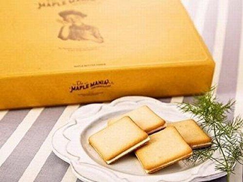 【ザ・メープルマニア】メープルバタークッキー 18枚入