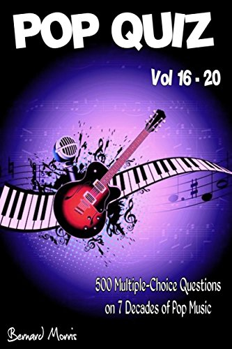 Pop Quiz Vol 16 - 20: 500 Multiple-Choice Questions on 7 Decades of Pop Music (Indie, Punk Rock, New Wave, Rap, Grunge, Heavy Rock, Disco, Soul, Glam Rock, Folk, Blues, - Arctic Disco