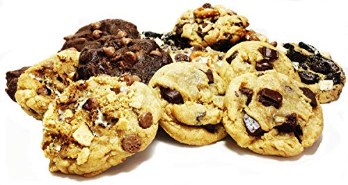 (Cookies Assorted Gift Basket - Gourmet Desserts For Delivery Fresh Baked 1 ½ Lbs. Soft Natural For Him, Her Holidays Corporate Food Gifts Unique Idea Men Women Fathers-Mothers Day Families)
