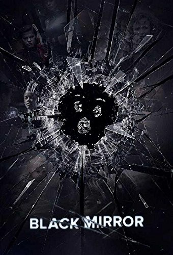 Black Mirror TV Show 12 x 18 Inch Multicolour Rolled Poster
