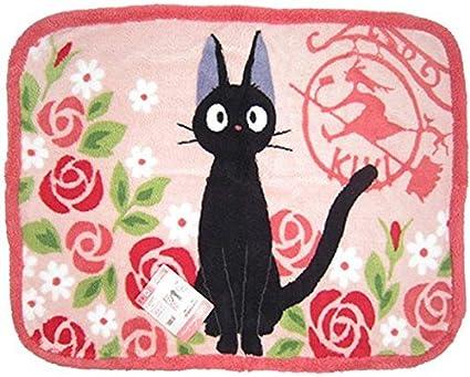 Amazon Com Studio Ghibli Kiki S Delivery Service Black Cat Jiji Blankets Fluffy Rose Toys Games