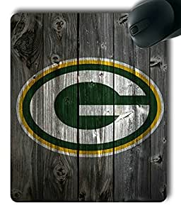 Green Bay Packers Wood Customized Rectangle Mouse Pad,Gaming Mouse Pad by supermalls