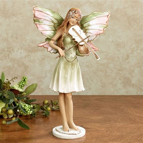 Touch of Class Violin Fairy Concerto Figurine Green