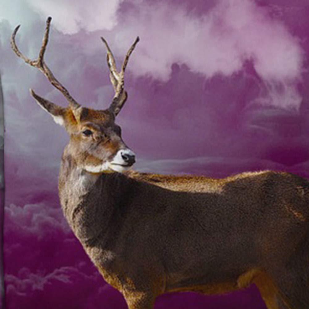 WM /& MW Novelty Mens Xmas Sweatshirt Hoodie Fashion Party Christmas Deer 3D Print Hooded Pullover Jumper Blouse Tops