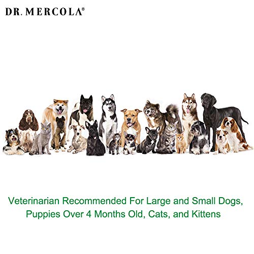 Dr. Mercola Herbal Repellent Collar For Large Dogs with Natural Active Ingredients, Long-lasting Flea Prevention - Odorless, Safe and Waterproof Flea Collars Effective Up To 4 Months, Necks up to 27'' by Dr. Mercola (Image #5)'