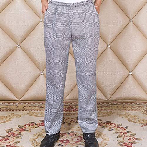 Per Vintage Huixin Cucina Pantaloni Stil Skinny 3 Tempo A Libero Da Il Righe Uomo Cucina Abbigliamento Unisex 6xq6r8g