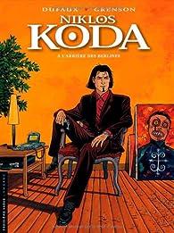 Niklos Koda, tome 01 : A l'arrière des berlines par Jean Dufaux