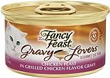 Fancy Feast Gravy Lovers Cat Food, Chicken, 3-Ounce (Pack of 24), My Pet Supplies