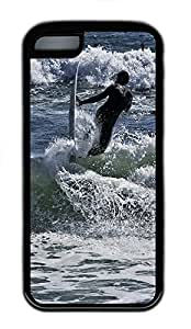 for iphone 6 4.7 Case Surf 03 TPU for iphone 6 4.7 Case Cover Black