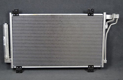 A-C Condenser - Pacific Best Inc For/Fit 4233 11-13 Mazda Mazda6 w/Receiver & Dryer Parallel Flow ()