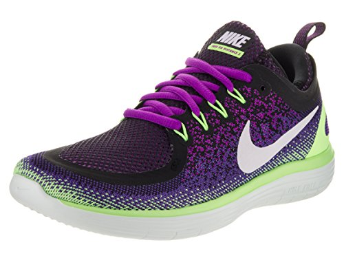 c656aa671a0f Galleon - Nike Womens Free Rn Distance 2 Hyper Violet White Dark Iris Running  Shoe Size 11
