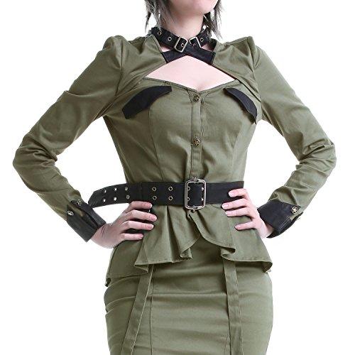 Chemise Verte Militaire