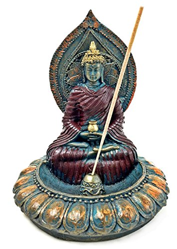 Incense Holder, Buddha Bust Head Incense Stick (Temple Buddha Head)