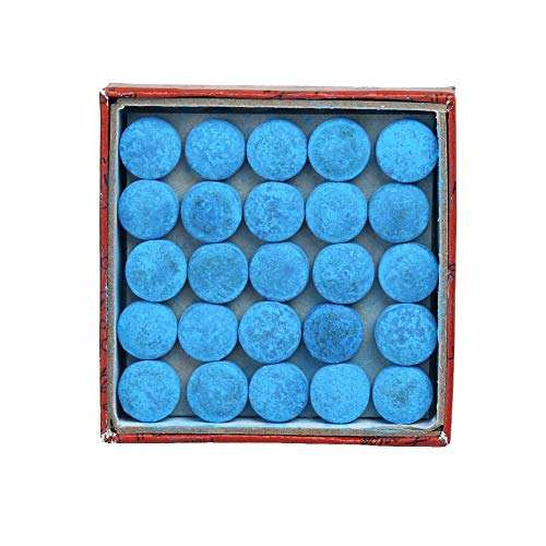 (S-Sport-Life - 50pcs/lot Glue-on Pool Billiards Snooker Cue Tips made in China/snooker tips billiard accessories 12mm, Blue Colors,)